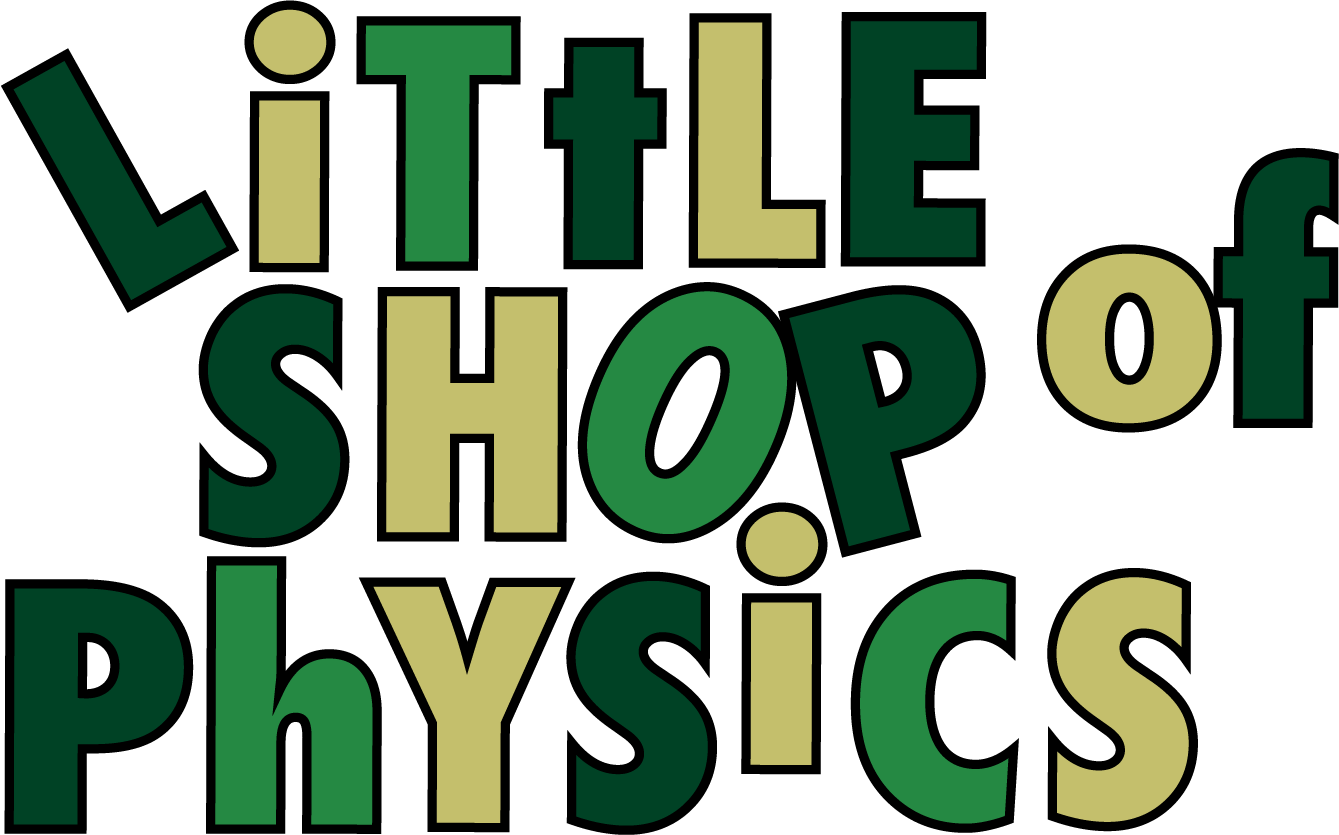 Little Shop of Physics Logo